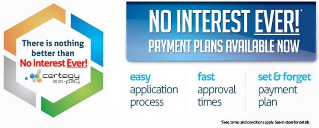 certegy-banner No Interest Ever for Finance