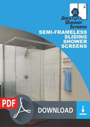 Semi-Frameless-Sliding-Shower-Screens-tile-176x200-1 Semi-Frameless Sliding Shower Screen
