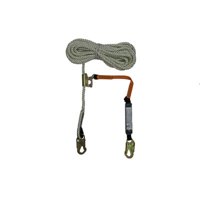 Safewaze FS700-50GA-3E 50ft x 5/8in. Polyester-dacron, 3