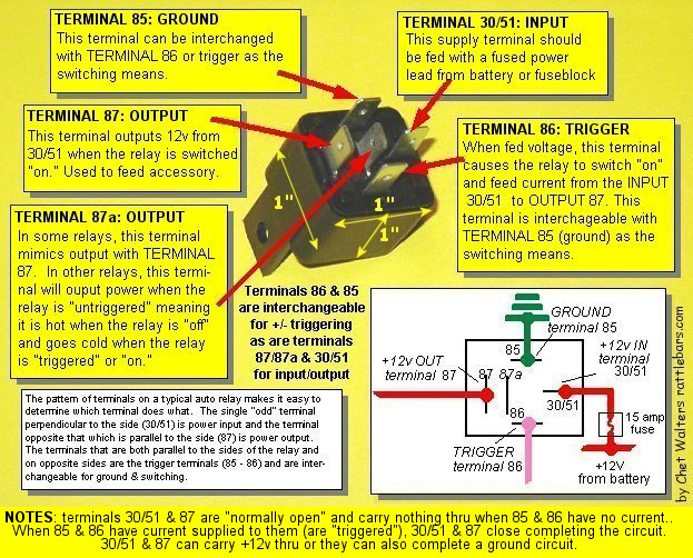 simple auto electrical wiring diagram starting capacitor in a relay -- i need some major help! | adventure rider