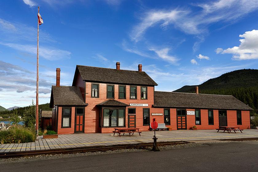 CarCross Railroad Depot