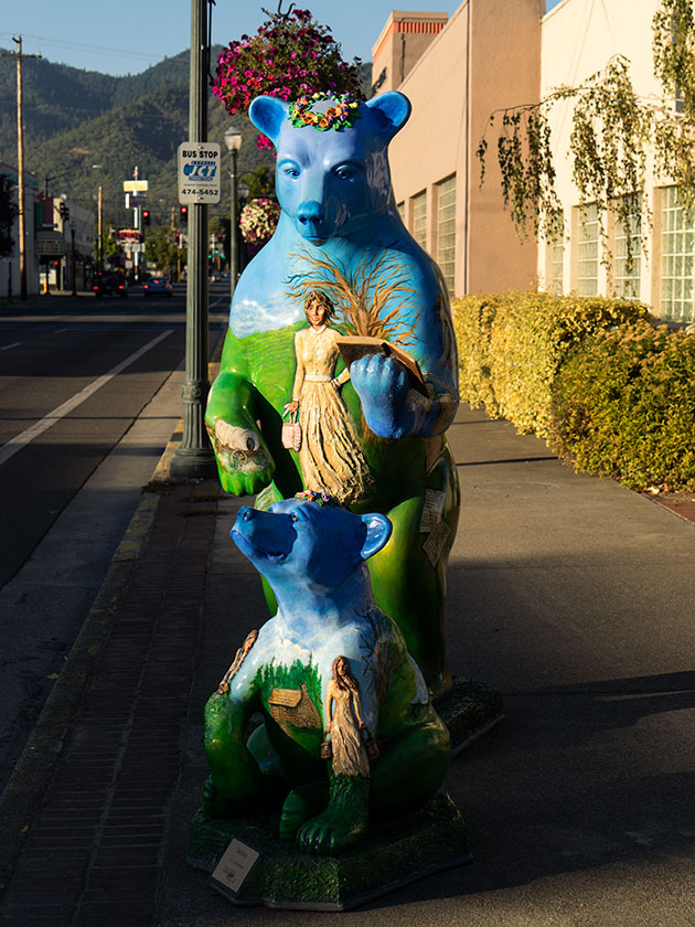 Blue Bear in Grants Pass