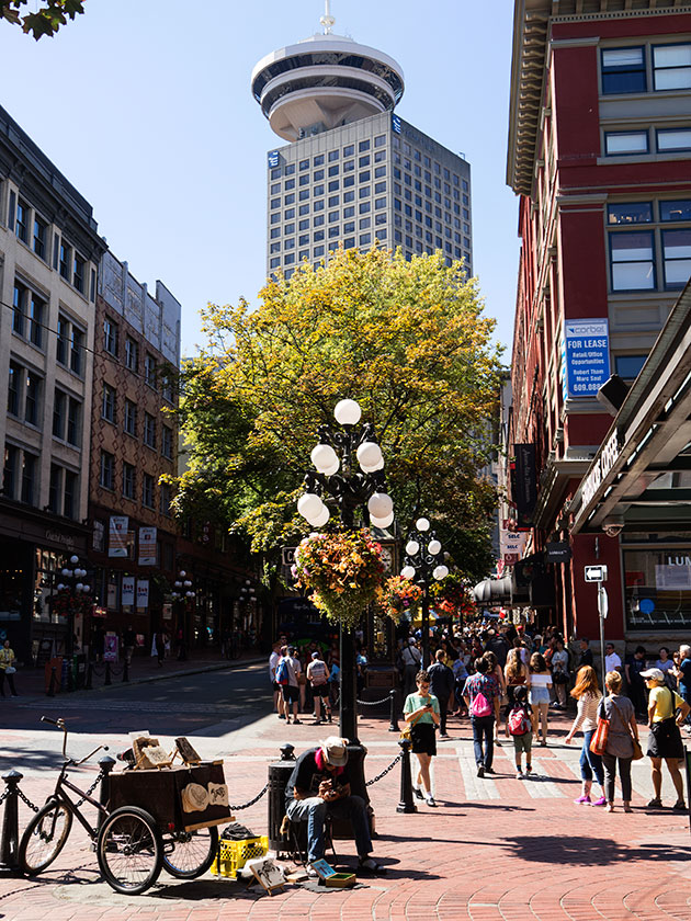 Gastown District of Vancouver