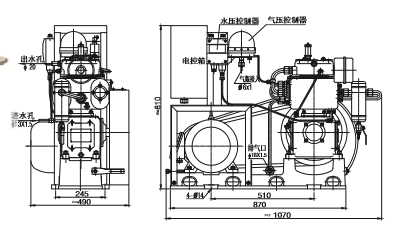 CZ-20/30SZK Series Middle Pressure Water Cooling Marine