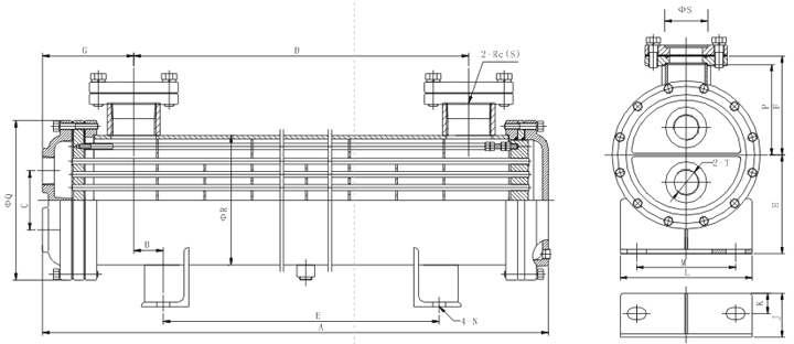 BC Series Water-cooled Heat Exchangers, Buy Heat Exchanger