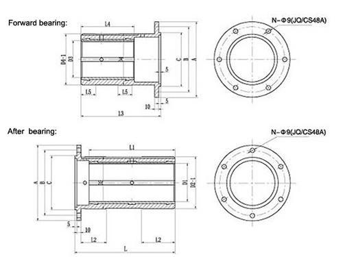 JQ/CS 48A Type Stern Tube Bearing, Buy Stern Tube Bearing