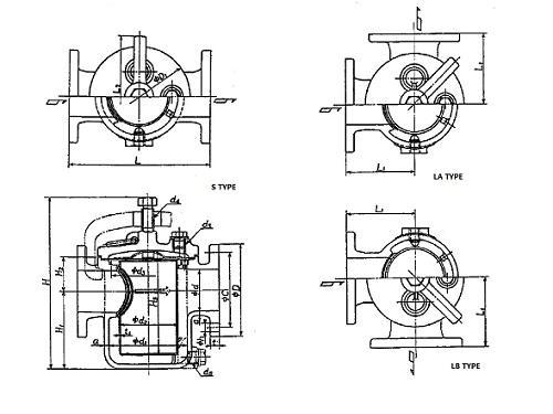 Marine Can Water Filter JIS 7121 10K (DN25-DN100), Buy JIS