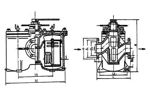 Low Pressure Coarse Oil Filter CB/T425-94, Buy CB Marine