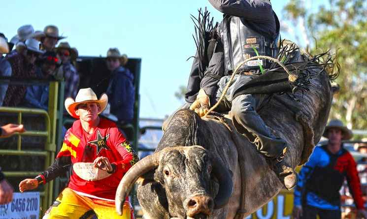 Jindabyne's Man From Snowy River Rodeo