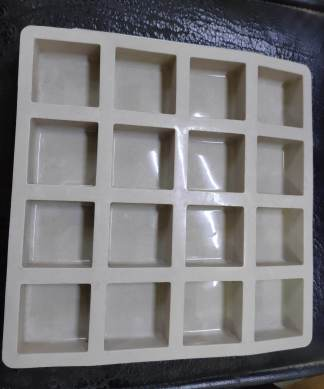 vedini square shape soap mold