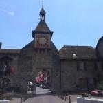 Svatojakubská cesta prochází kolem vesnice Saint-Prex na břehu Ženevského jezera
