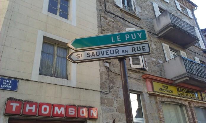 Polovina Svatojakubské cesty se nachází v Le Puy