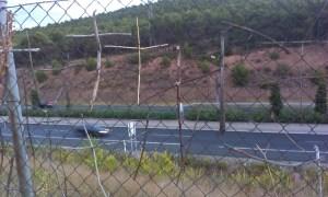 Netradiční křížová cesta vedle Svatojakusbké pouti ve Španělsku
