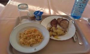 V Santiagu de Compostela se mohou poutníci bezplatně najíst v pětihvězdičkovém hotelu Parador