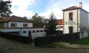 Noclehárna v Rubiaes na Camino Portugues v Portugalsku.