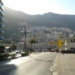 Britské město Gibraltar ve Španělsku