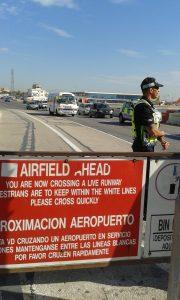 Přechod funkčního letiště na Gibraltaru