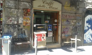 Kavárna v italské Neapoli