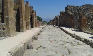 Cesta v Pompejích