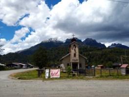 Osada na cestě Carretera Austral v Chile