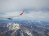 Přelet pohoří And ze Santiaga de Chile do argentinského Buenos Aires