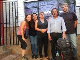 Stopem jsme se v Chile dostali k rodině ve Vina del Mar.