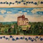 Maková hora u Smolotel. Domácí malování a výroba