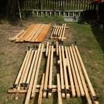 Impregnace lněným olejem. Lněný olej. Ošetření dřeva. Ochrana dřeva přírodní cestou. Bez chemie.