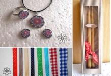Rudělná výroba, řemeslo, řemeslná výroba, dekorační krabičky, dárkové balení, dárková krabička, šperky, svíčky, stuhy, online prodej, eshop