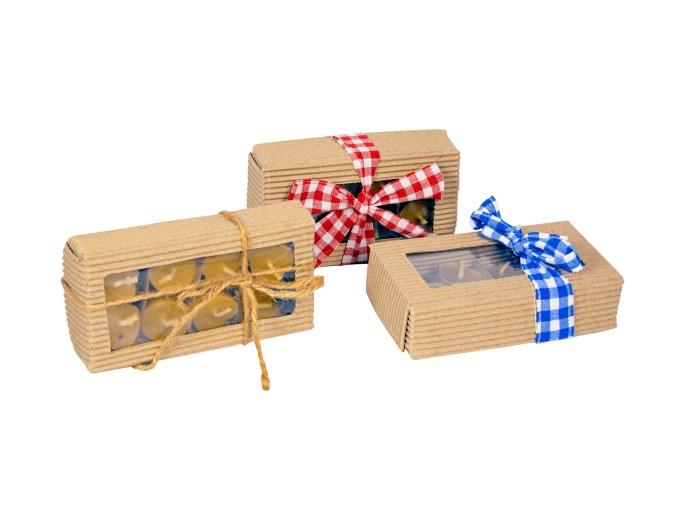 Svíčka, vosk, včelí vosk, svíčky, dárek, dárkové balení, plovoucí svíčky