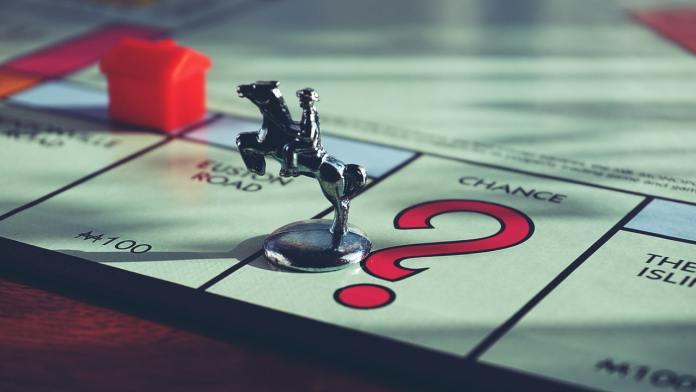 monopoly, hra, šance, figurka, políčko