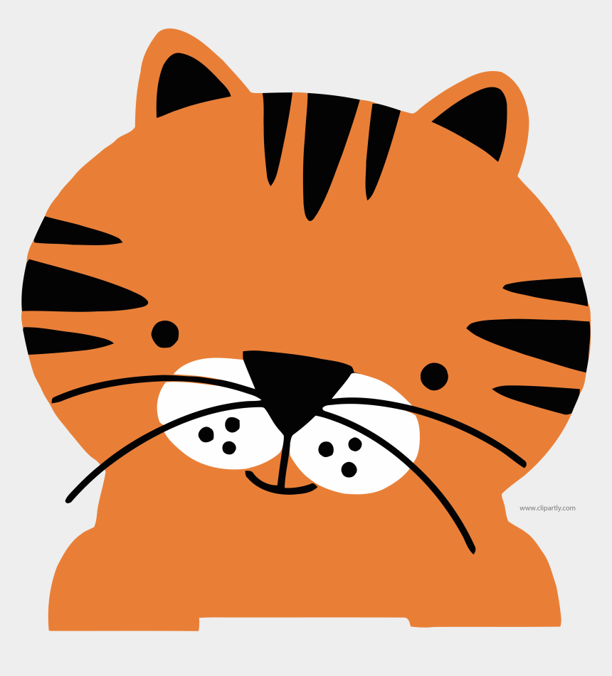 Tomato Red Color Basic Tiger Face Clipart Png Wild Animals Clipart Cute Cliparts Cartoons Jing Fm