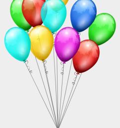 birthday balloon clipart transparent background [ 920 x 1306 Pixel ]