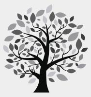 Malvorlage Baum Mit ästen   Vorlagen zum Ausmalen gratis ...