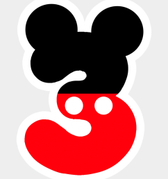 fiesta mickey mouse mickey mouse birthday mickey number 3 mickey mouse [ 920 x 1043 Pixel ]