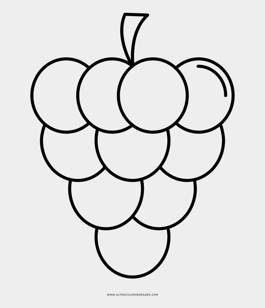 Grapes Clipart Coloring Sheet Uva Desenho Para Colorir Cliparts Cartoons Jing Fm