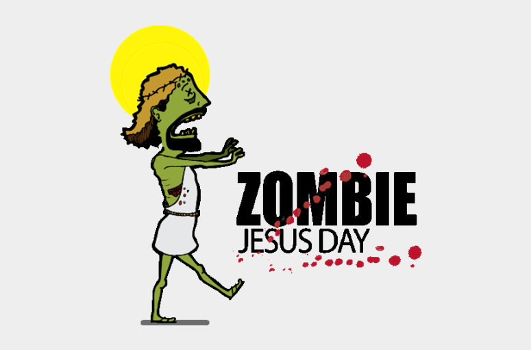 Zombie Jesus Day, Cliparts & Cartoons - Jing.fm