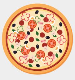 pizza images clipart pizza sicilian pizza italian pizza vector png free [ 920 x 960 Pixel ]