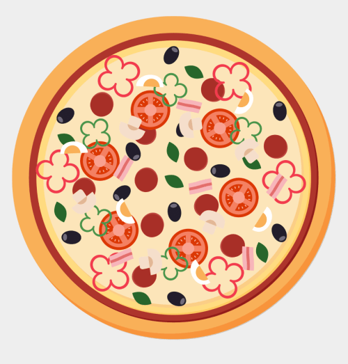 small resolution of pizza images clipart pizza sicilian pizza italian pizza vector png free