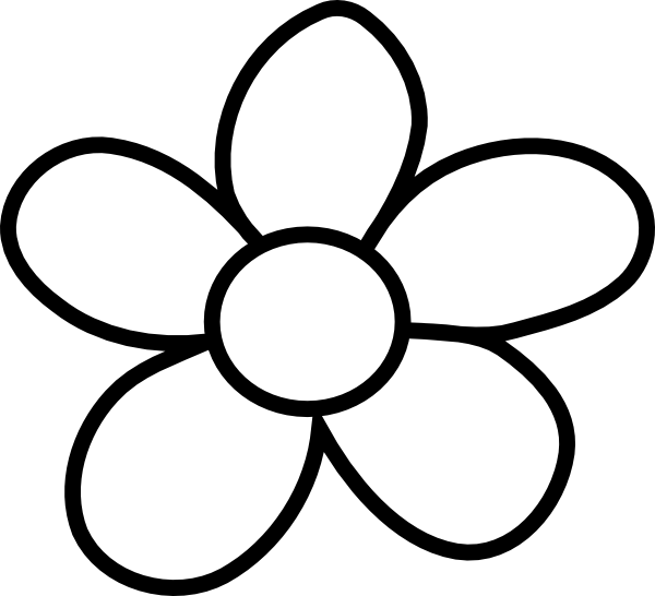 Black And White Flower Clip A Black And White Flowers Clip Art Transparent Cartoon Jing Fm