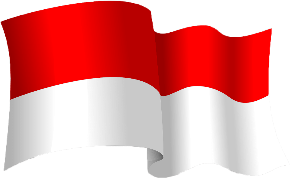 clipart bendera indonesian flag