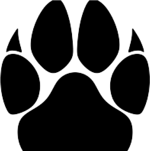 mountain lion clipart claw