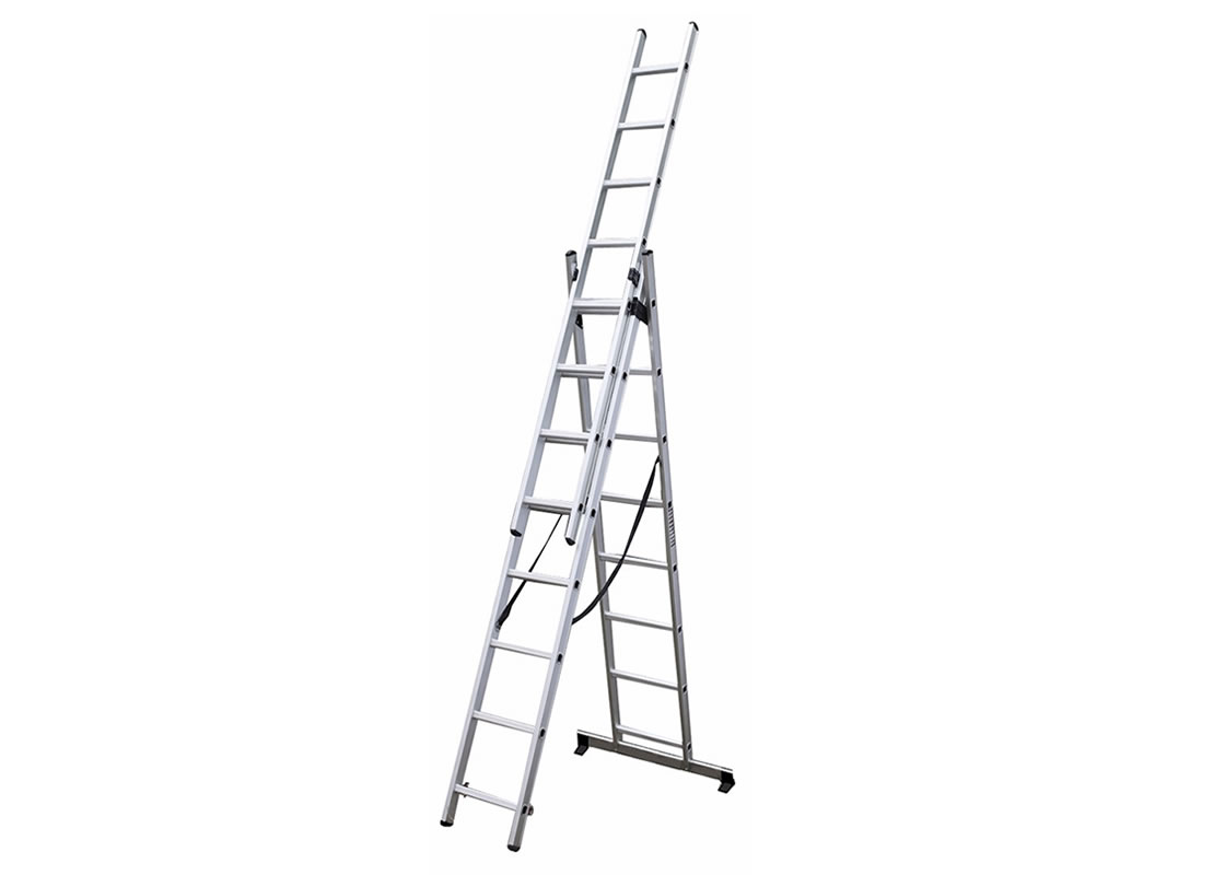3 Section Extension Ladder 3x14 Rungs