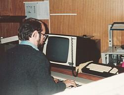 Herco de Boer in de SVEM, foto Herco de Boer