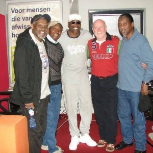 Ferry Maat met The Trammps - foto Ferry Maat