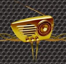 Gouden glans van radio