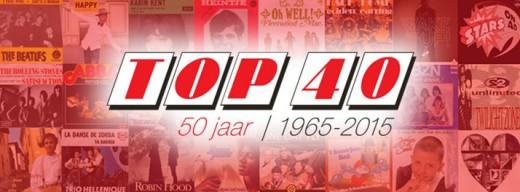 50 jaar Top 40 logo