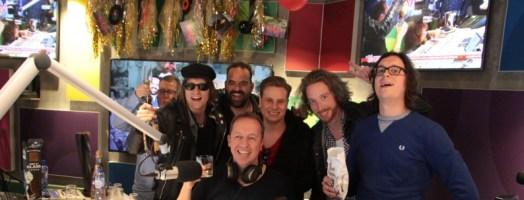 Het team - foto Radio 538 - Luca Savazzi