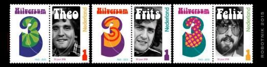 Hilversum III - Postzegels 001
