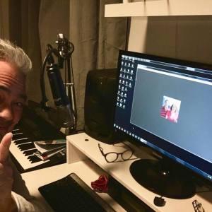 Bart van Gogh in NL nachtsessie via Skype met Jam 1 nov 2017